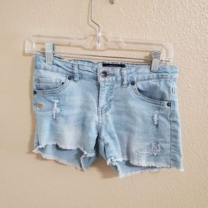 Lucky Brand Distressed Jeans Shorts Size 12 🎉HP